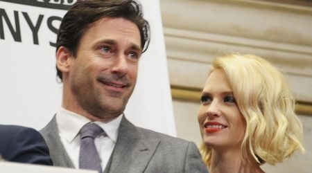 'Mad Men' couple Jon Hamm and January Jones secretly dating in real life