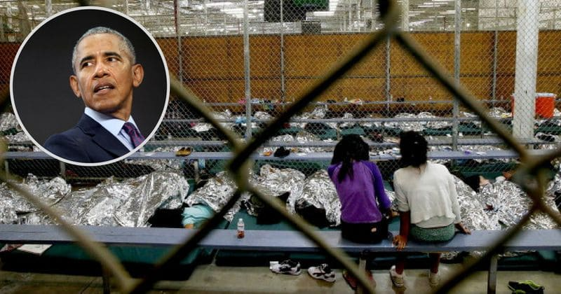 Barack Obama also separated children from parents and used detention facilities but went scot-free