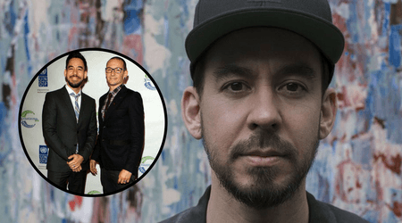 Mike Shinoda speaks about his struggle to come to terms with the death of Linkin Park bandmate and friend Chester Bennington