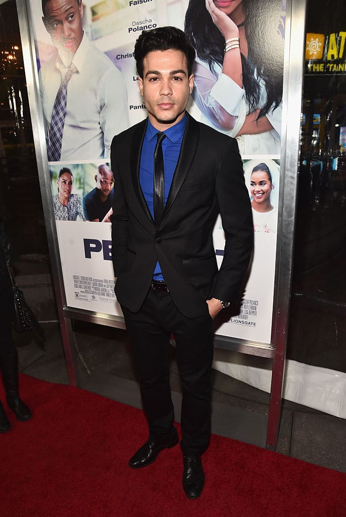 TV personality Ray Diaz attends the premiere of Lionsgate's 'The Perfect Match' at ArcLight Hollywood on March 7, 2016 in Hollywood, California. (Photo by Alberto E. Rodriguez/Getty Images)