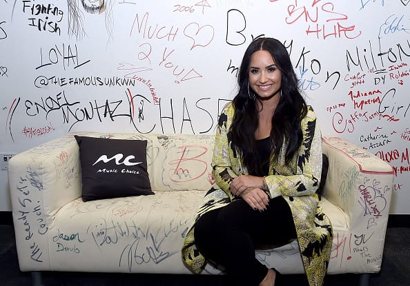Demi Lovato opens up about her relapse in her new single, 'Sober'. (Getty Images)