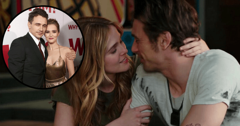 What S It Like Kissing James Franco Co Star Zoey Deutch