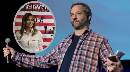 "Judd Apatow slams First Lady Melania Trump: ""You support evil with your silence"""