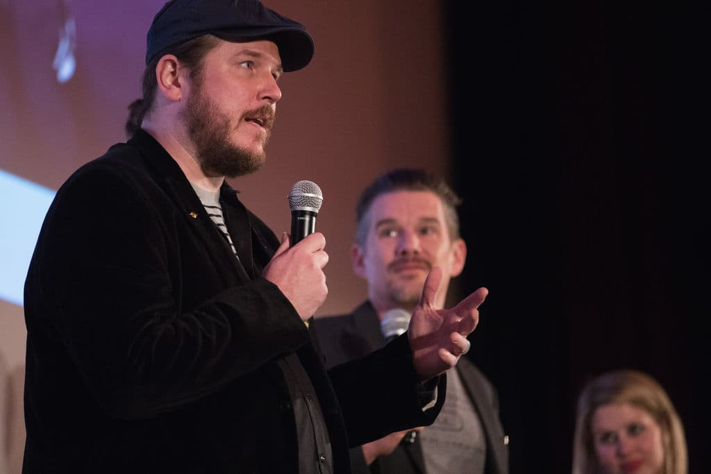 Ethan Hawke and actor Ben Dickey (Getty Images)