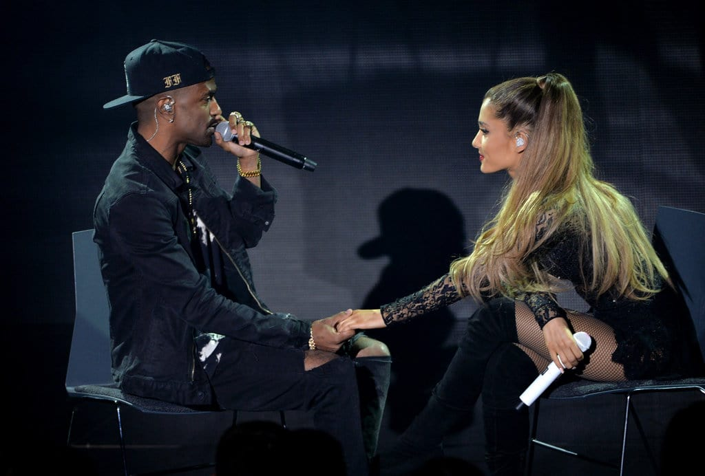 Grande's engagement, however, did not come across as a huge surprise to her ex-boyfriend Big Sean. (Photo by Kevin Winter/Getty Images for Clear Channel)