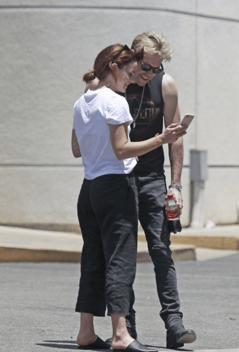 Emma Watson and Chord Overstreet (Source: Twitter)