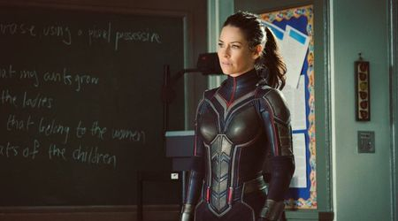 Evangeline Lilly's sexy 'Ant-Man and The Wasp' costume made eating difficult