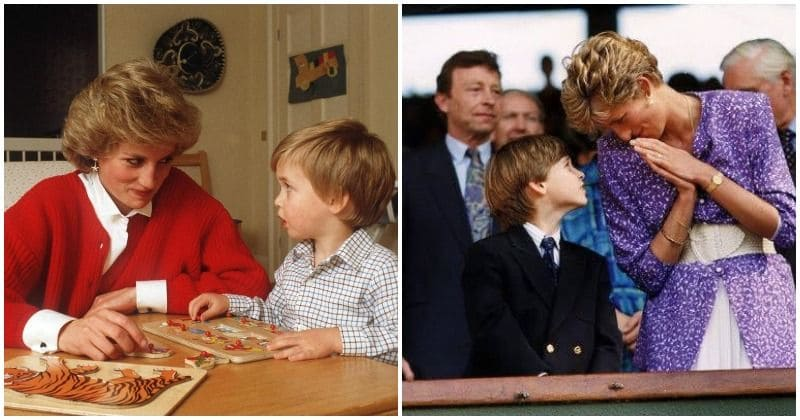 Princess Diana got a 'boob cake' for Prince William's 13th birthday