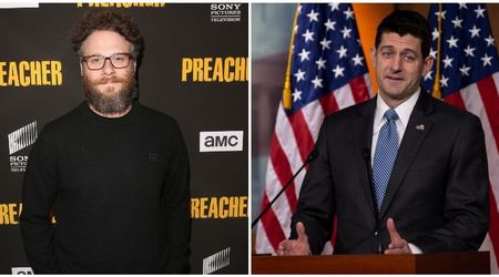 Seth Rogen refused to get clicked with Paul Ryan: 'No way, man!'