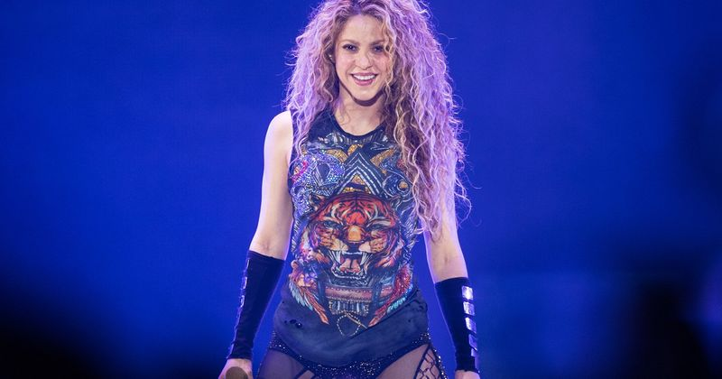 Shakira drops necklace resembling Nazi symbol from merch site