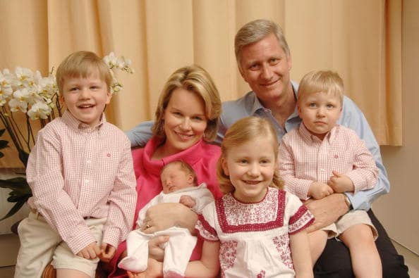 Belgian Royal Family in 2008 (Getty Images)