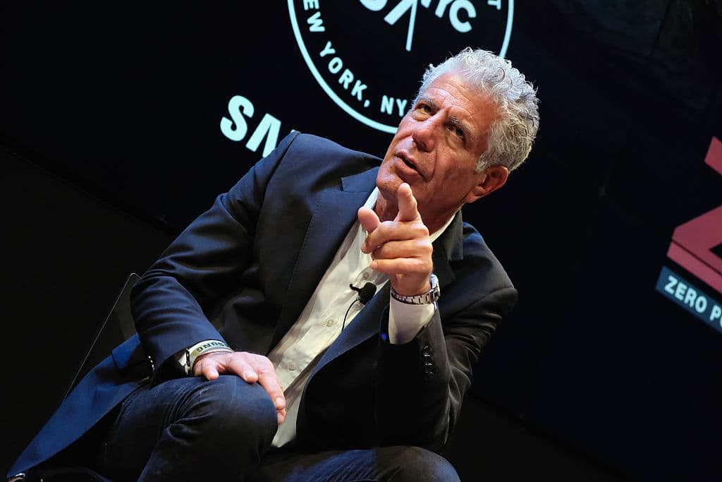 Anthony Bourdain killed himself in a hotel in France on June 8 (Getty Images)