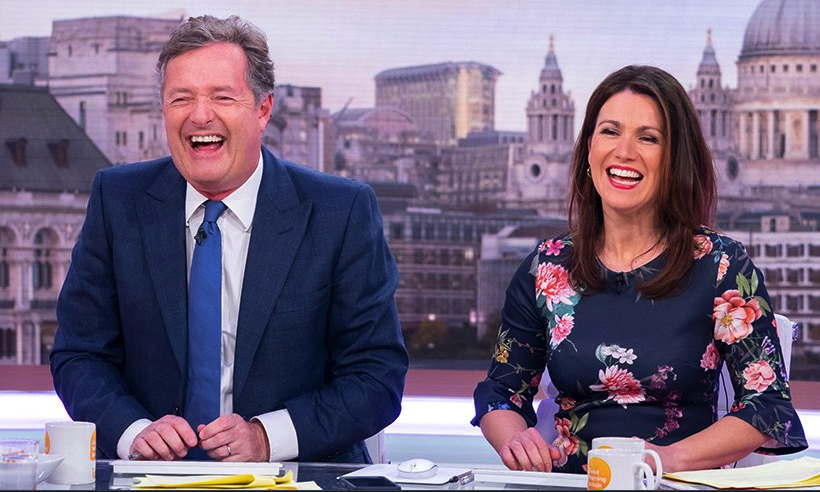 In a recent interview, his co-host and fellow presenter Susanna Reid revealed what she really thinks of him and her experience of co-hosting the show with him. (Source: Twitter)