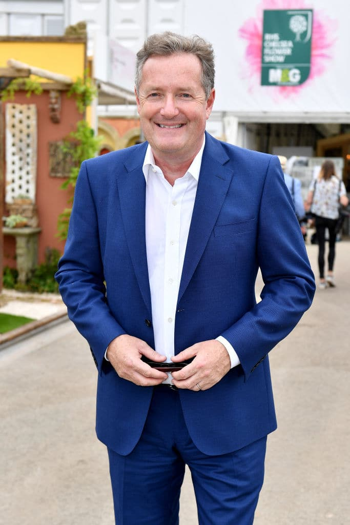 Piers Morgan attends the Chelsea Flower Show 2018 on May 21, 2018 in London, England (Getty Images)