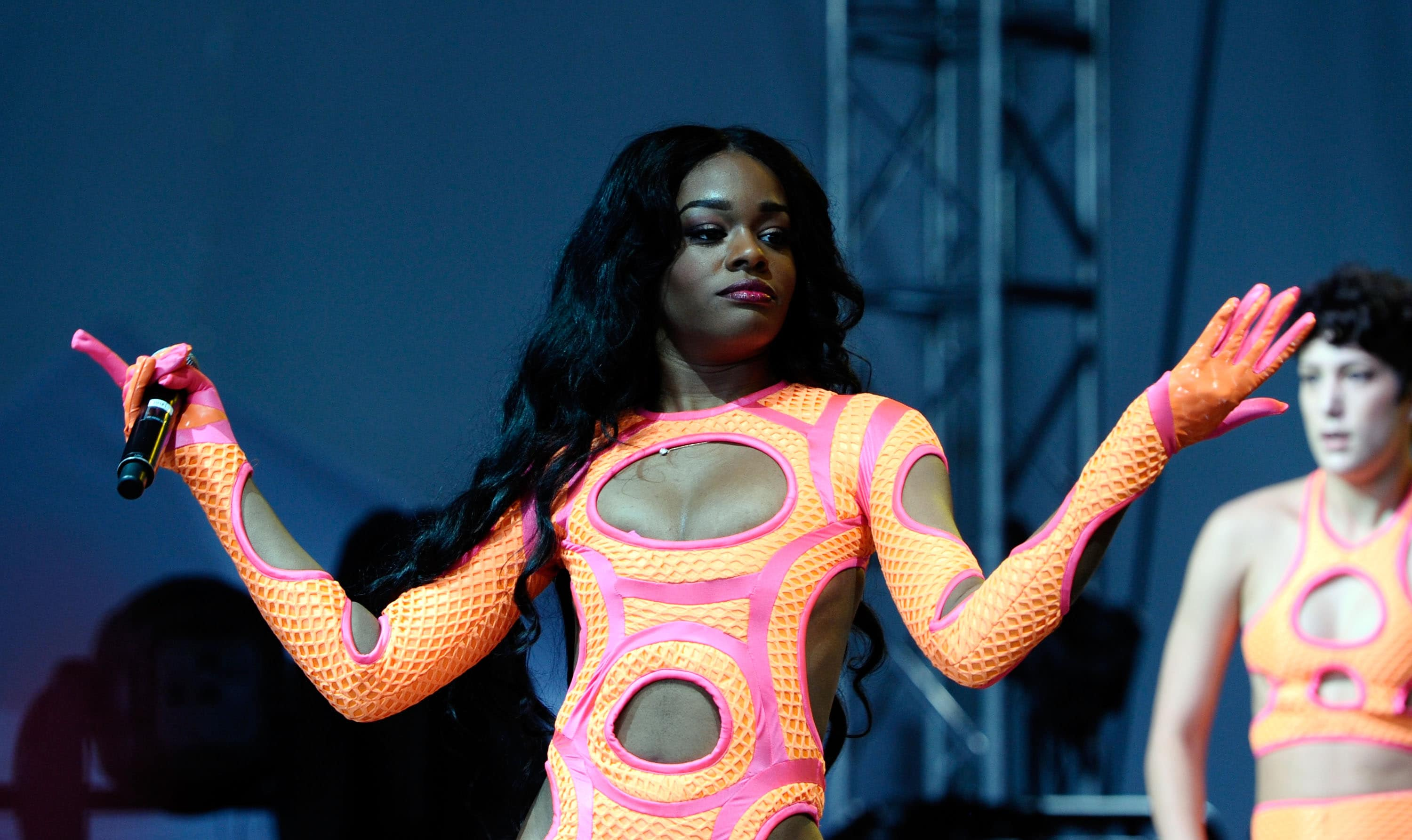 Azealia Banks accused Russell Crowe of choking her, spitting on her, and calling her a racial slur (Getty Images)