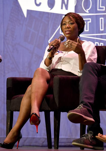 Joy Reid said that was inappropriate of her to share details about the network with Abrams (Getty Images)
