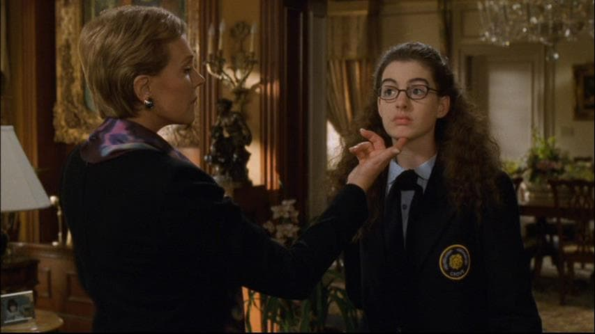 Scene from Princess Diaries (Facebook)