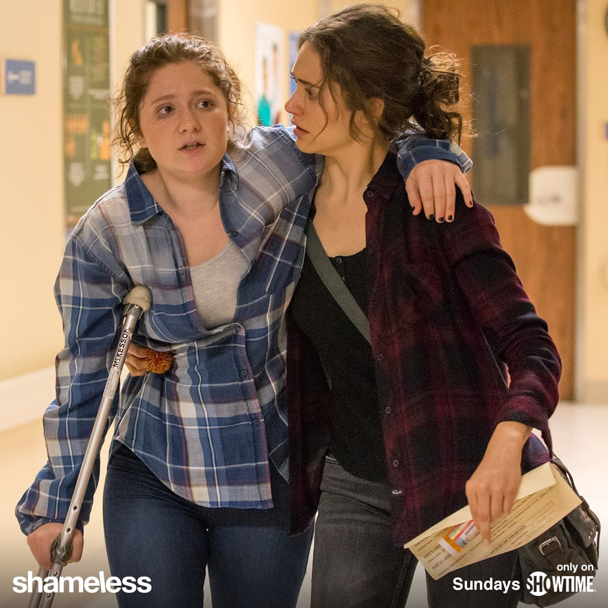 Scene from Shameless (Facebook)