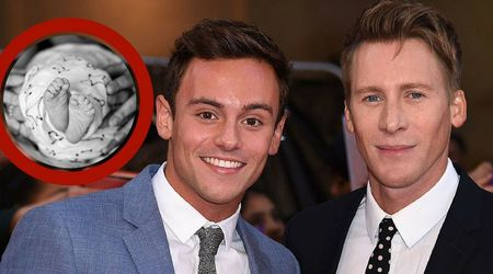 Tom Daley and Dustin Lance Black announce birth of their son, Robbie Ray Black-Daley