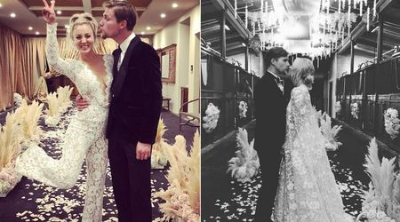 'The Big Bang Theory' star Kaley Cuoco marries Karl Cook and we can't stop smiling at the pics