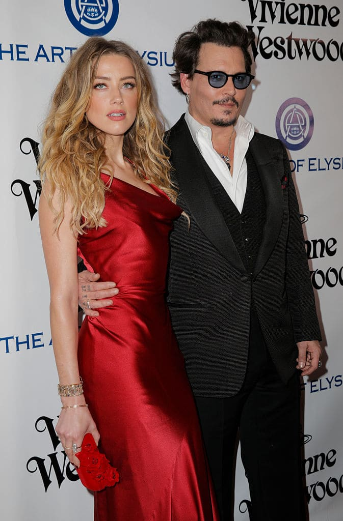After his divorce from actress Amber Heard, Johnny pretty much sunk into a hole because of the battery and assault issues that the marriage had seemingly become riddled with. (Source: Getty Images)