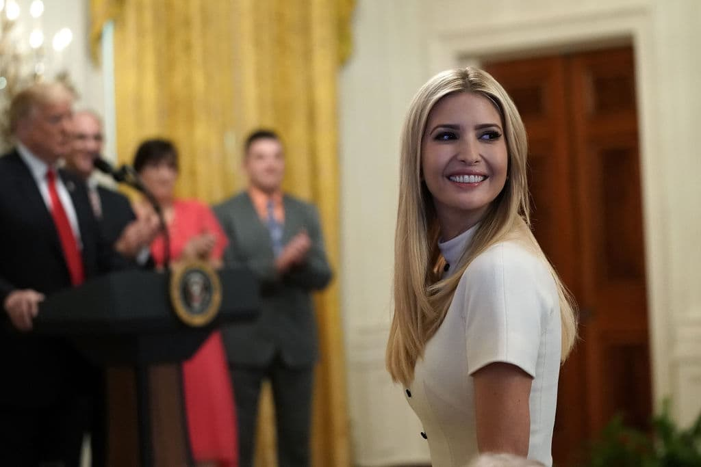 Ivanka Trump, senior adviser and daughter of U.S. President Donald Trump, attends an event at the East Room of the White House June 29, 2018, in Washington, DC. (Photo by Alex Wong/Getty Images)