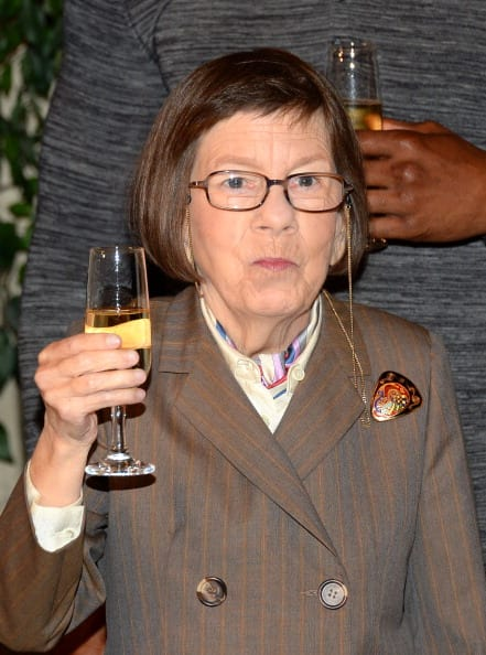 Actress Linda Hunt attends the CBS' 'NCIS: Los Angeles' celebrates the filming of their 100th episode held at Paramount Studios on August 23, 2013 in Hollywood, California. (Photo by Mark Davis/Getty Images)