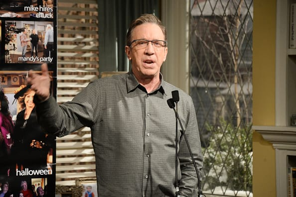 Actor Tim Allen attends the 100th episode celebration of ABC's 'Last Man Standing' at CBS Studios. (Getty Images)