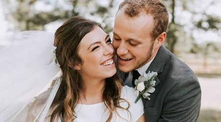 """What a joy it is to be husband and wife!""Josiah Duggar and Lauren Swanson gush after getting married over the weekend"