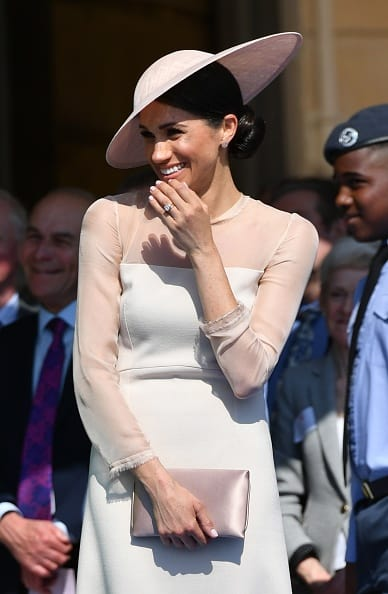 Meghan, Duchess of Sussex attends The Prince of Wales' 70th Birthday Patronage Celebration held at Buckingham Palace on May 22, 2018 in London, England (Photo by Dominic Lipinski - Pool/Getty Images)
