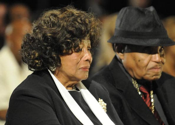 Joe Jackson and Katherine Jackson (Source: Getty Images)