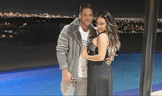 Ronnie Ortiz-Magro and Jen Harley (Source: Twitter)