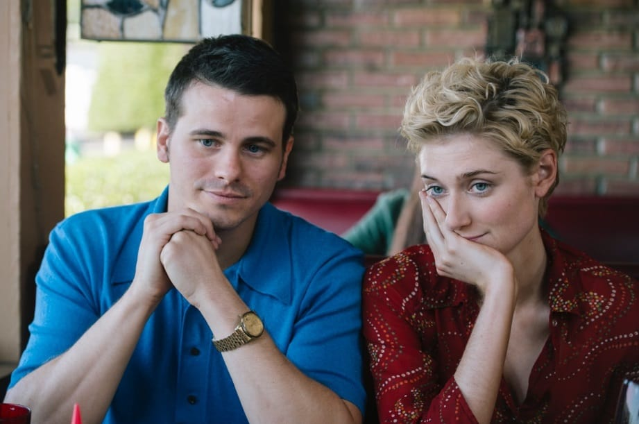 Jason Ritter and Elizabeth Debicki from The Tale. (Kyle Kaplan)