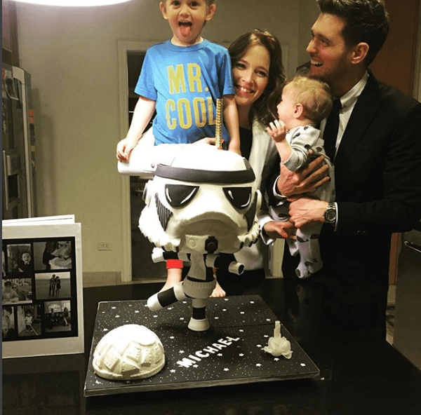 Michael Buble had stopped performing to take care of his son, Noah. (Instagram)