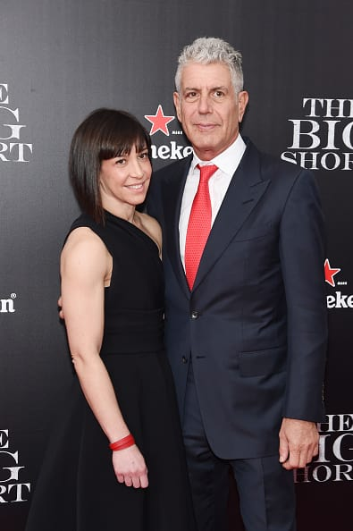 Ottavia Busia is listed as the executor of Bourdain's estate. (Getty Images)