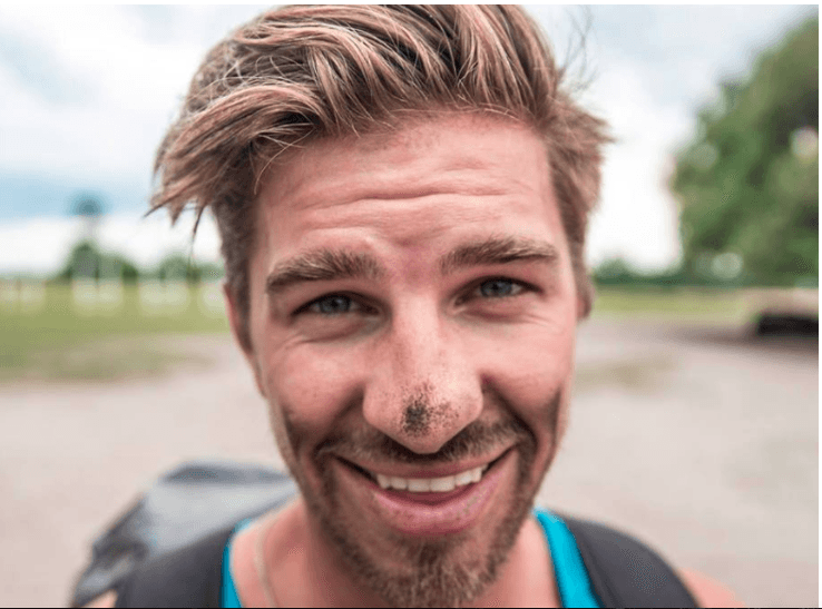 Travel vlogger Ryker Gamble was among the three vloggers who was later found dead. (Facebook/Ryker Gamble)