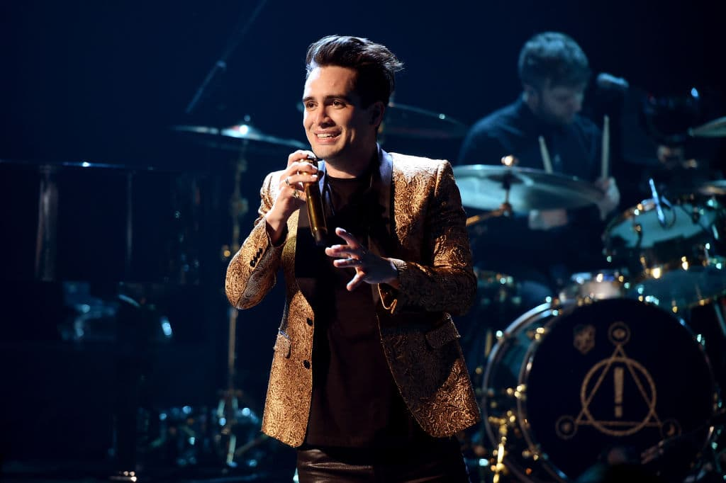 After identifying himself as straight and then 'sexually fluid', Brendon Urie has finally come out as pansexual. (Photo by Kevin Winter/Getty Images for iHeartMedia)