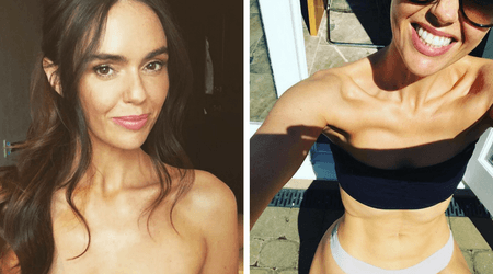 "Actress Jennifer Metcalf says she ""doesn't care"" if people feel she has gone ""too far"" with her weight loss"