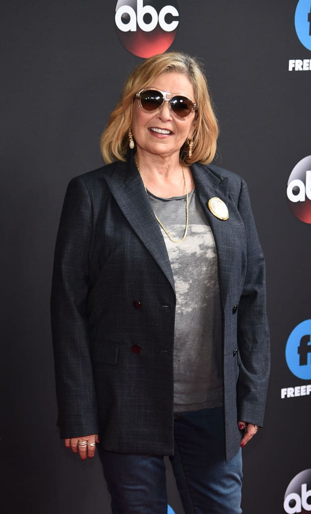 Roseanne Barr was fired from the show 'Roseanne' following her racist tweet (Photo by Dimitrios Kambouris/Getty Images)