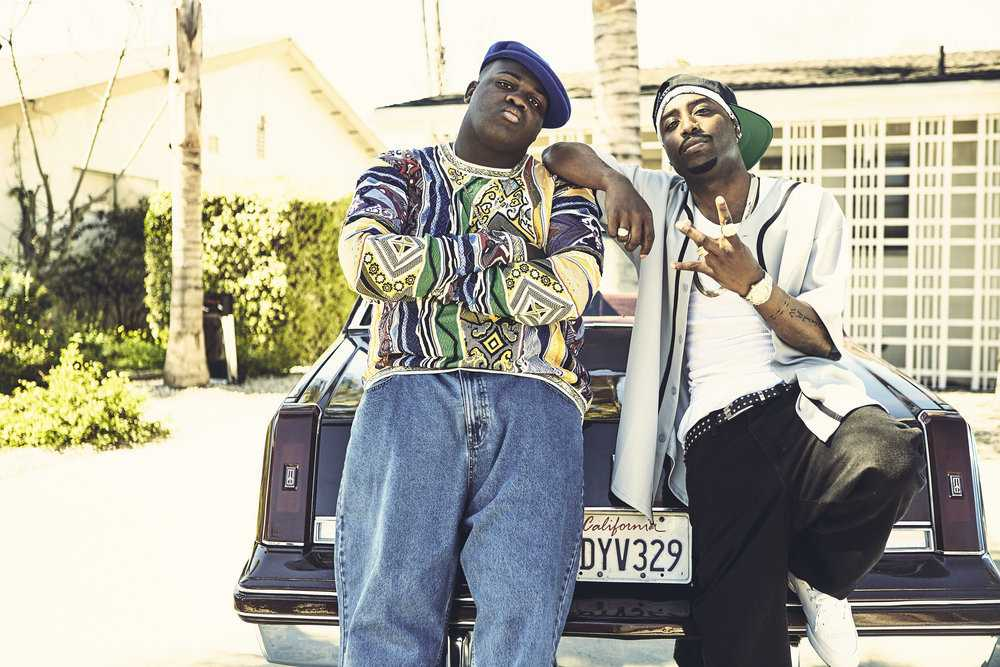 The series tries to unravel the mystery behind the deaths of rappers Tupac and Biggie Small (Source: IMDb)