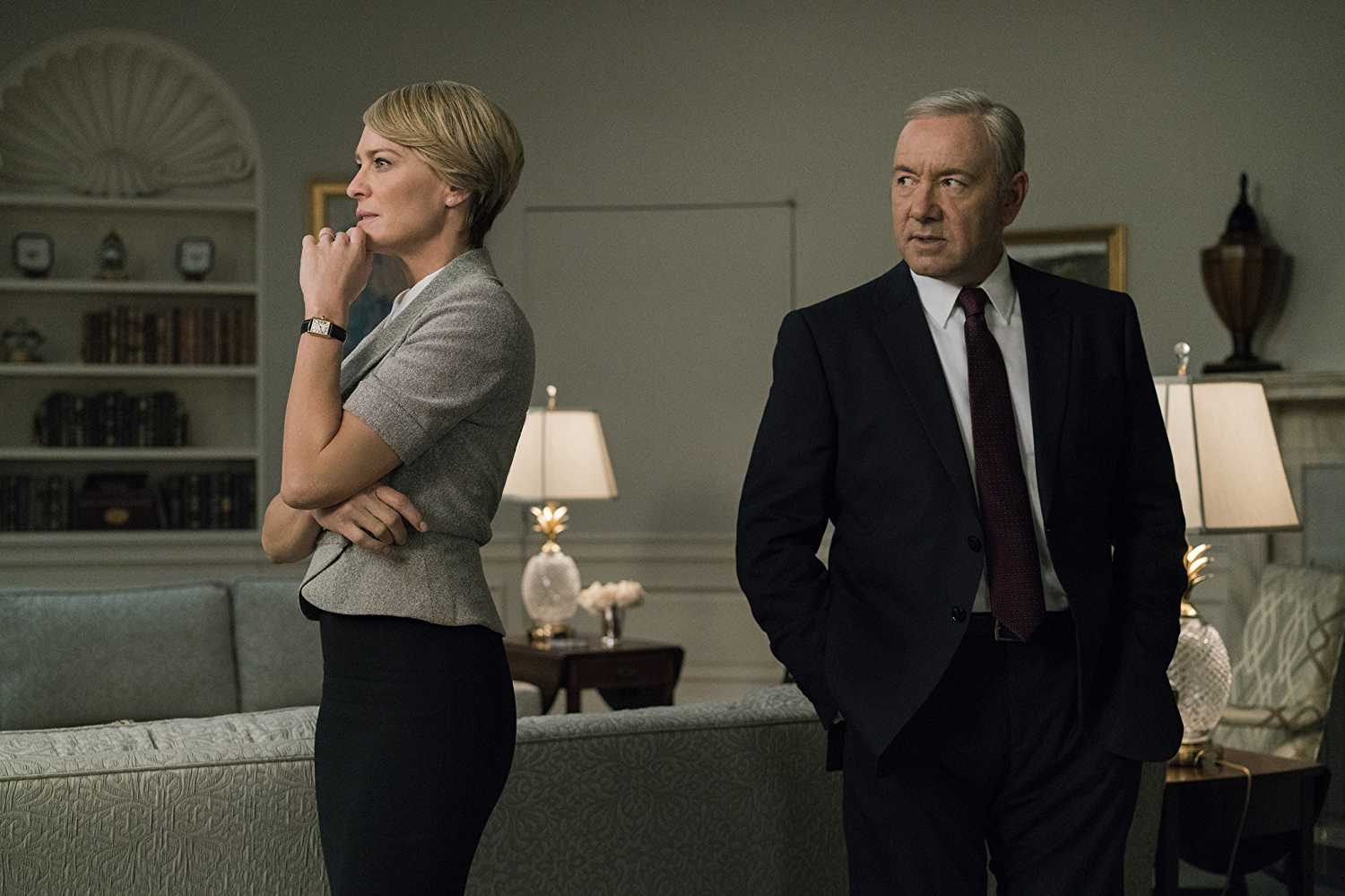 'House of Cards' went through an upheaval after Spacey's firing (Source: IMDb)