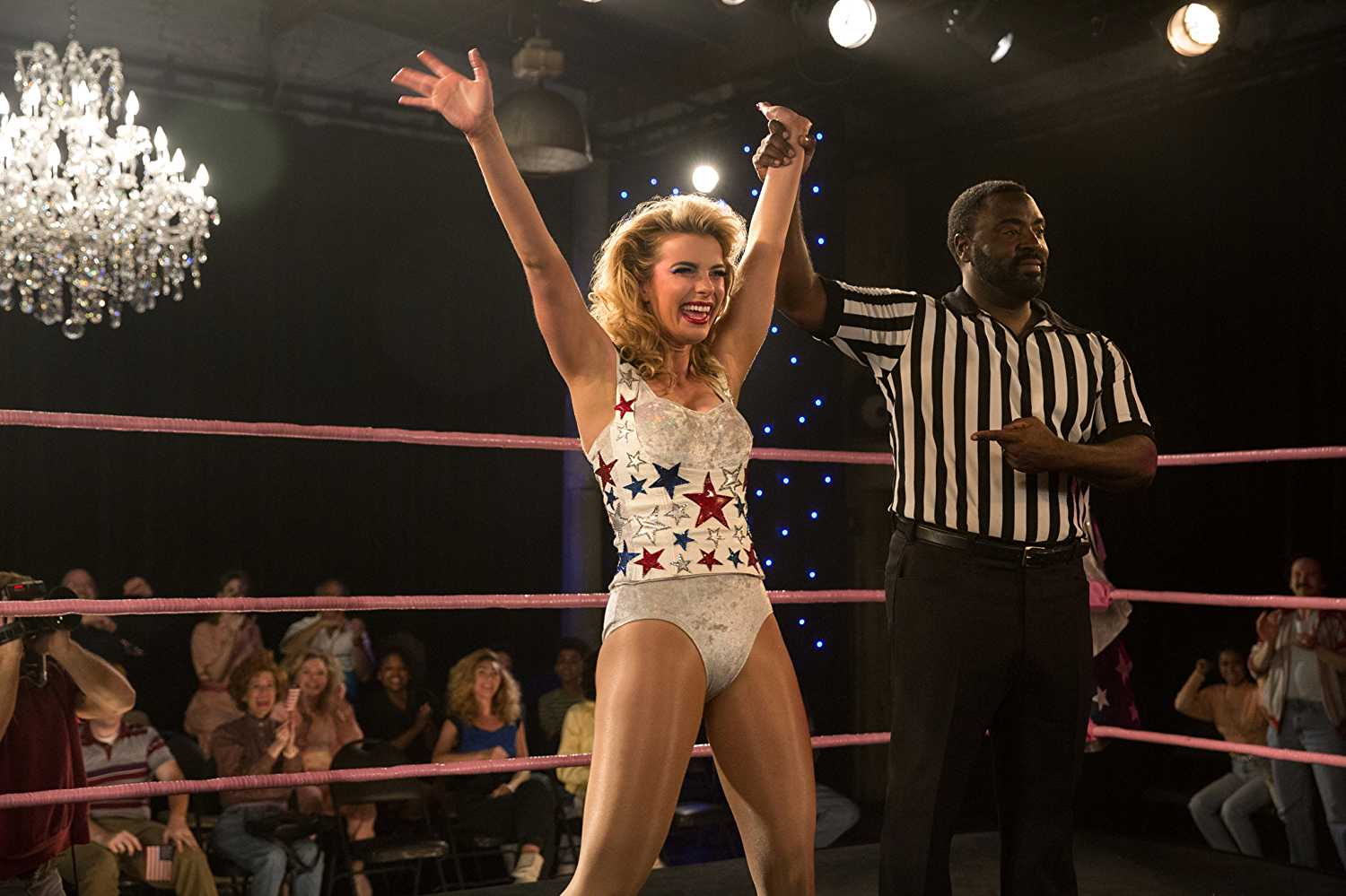 'GLOW' chronicled the fictionalized livesmid-1980s980s female wrestlers (Source: IMDb)