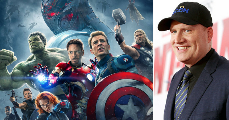 "Kevin Feige, president of Marvel Studios, lets fans in on MCU plans ""between now and 2024"""