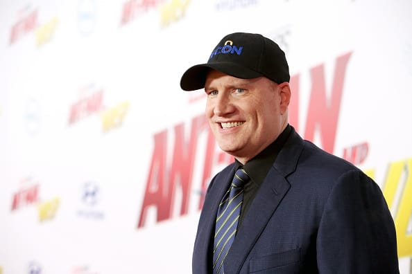 Marvel Studios President Kevin Feige dishes on Black Widow plans (Getty)