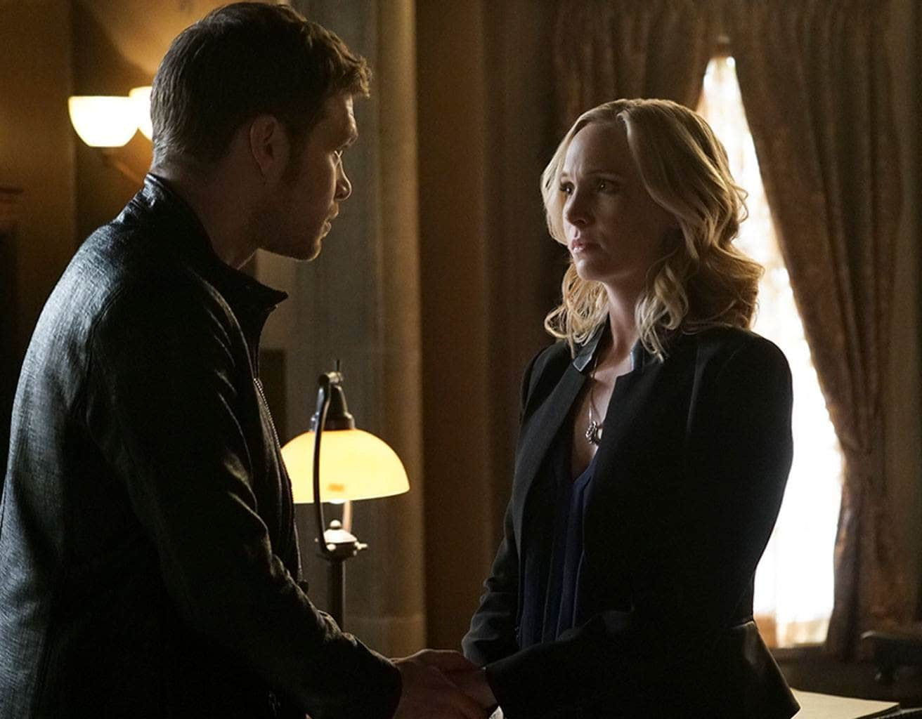 Here's one for the  Klaroline fans. Source: E!