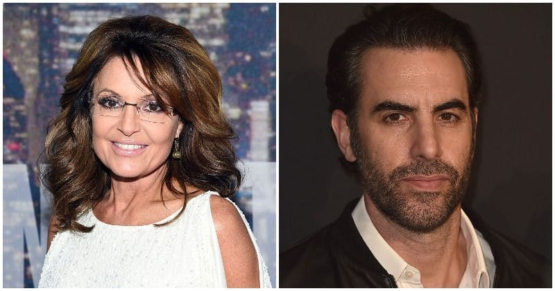 "Sarah Palin claims she was ""duped"" by Sacha Baron Cohen's ""evil, sick humor"", slams him for posing as a disabled US veteran"