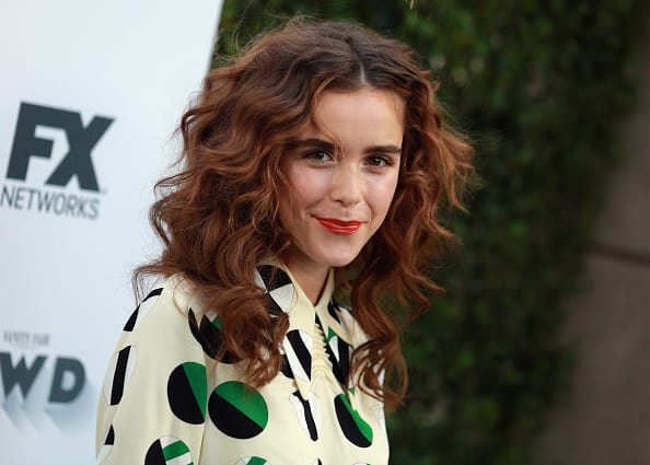 Kiernan Shipka plays Sabrina in upcoming Netflix reboot (Getty)
