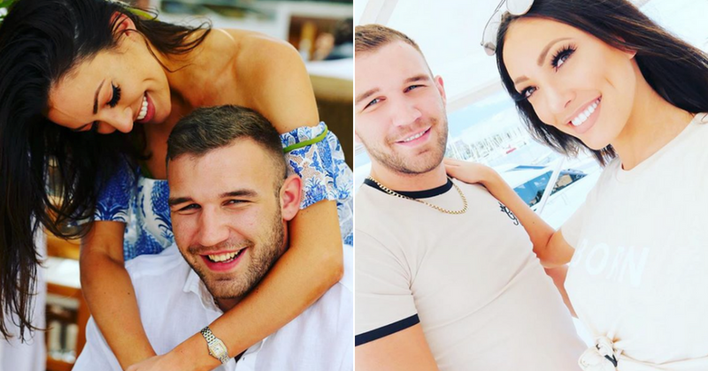 Sophie Gradon and Aaron Armstrong were planning their wedding before their shocking deaths