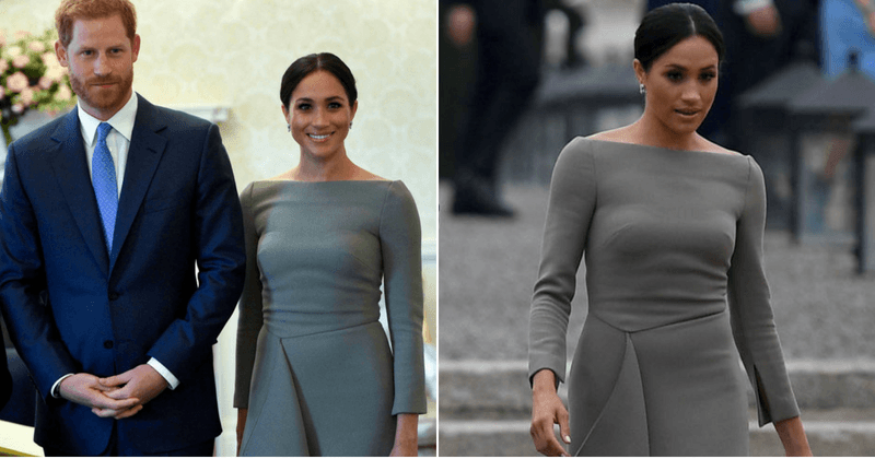 Meghan Markle commits the ultimate fashion faux pas with a wrong bra