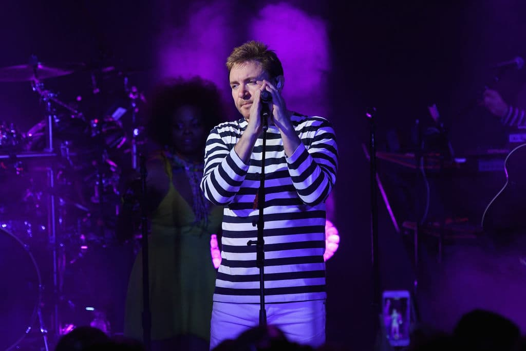 Simon Le Bon, frontman of Duran Duran has been accused of molesting a fan during a meet-and-greet session. (Photo by Dimitrios Kambouris/Getty Images for SiriusXM)